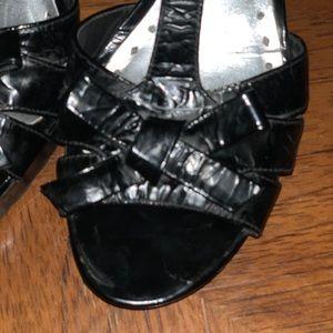 BCBGirls Shoes - Black bcbg platform heels